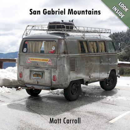 San Gabriel Mountains book cover